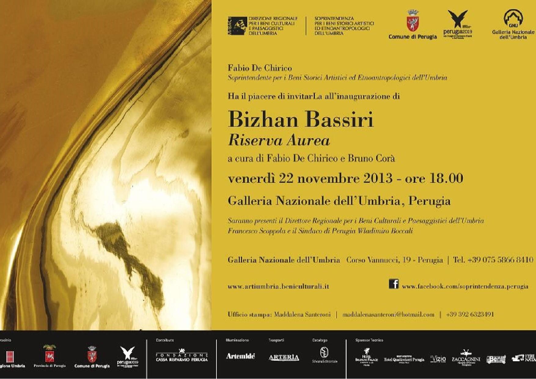 Bizhan Bassiri Riserva Aurea
